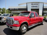 2005 Red Ford F350 Super Duty Lariat Crew Cab 4x4 Dually #52087017