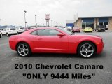 2010 Victory Red Chevrolet Camaro LS Coupe #52087172