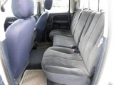 2002 Dodge Ram 1500 SLT Quad Cab Navy Blue Interior