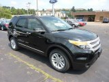 2011 Ebony Black Ford Explorer XLT 4WD #52086974