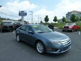 2011 Steel Blue Metallic Ford Fusion SEL V6 #52086975
