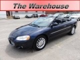 2002 Deep Sapphire Blue Pearl Chrysler Sebring Limited Convertible #52086895