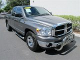2007 Mineral Gray Metallic Dodge Ram 1500 SLT Quad Cab #52086900