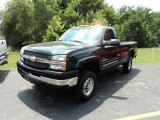 2004 Chevrolet Silverado 2500HD LS Regular Cab 4x4 Front 3/4 View