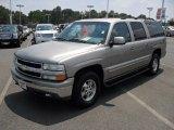 2001 Light Pewter Metallic Chevrolet Suburban 1500 LT #52087132