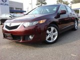 2009 Basque Red Pearl Acura TSX Sedan #52086931