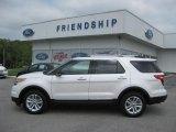 2011 White Platinum Tri-Coat Ford Explorer XLT 4WD #52112116