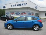 2012 Blue Candy Metallic Ford Focus SE Sport 5-Door #52112122
