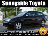 2005 Pitch Black Ford Focus ZX3 SES Coupe #52117753