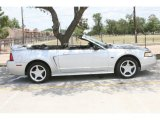 Silver Metallic Ford Mustang in 2000