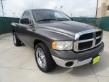 2002 Graphite Metallic Dodge Ram 1500 ST Regular Cab #52118059
