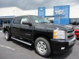 2011 Black Chevrolet Silverado 1500 LT Crew Cab 4x4 #52117995