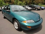 1999 Medium Green Metallic Chevrolet Cavalier Sedan #52118008