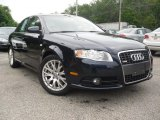 2008 Deep Sea Blue Pearl Effect Audi A4 2.0T quattro S-Line Sedan #52117938