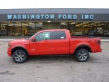 2011 Race Red Ford F150 FX4 SuperCrew 4x4 #52118104