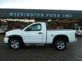 2003 Bright White Dodge Ram 1500 SLT Regular Cab 4x4 #52118113