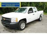 2009 Summit White Chevrolet Silverado 1500 Extended Cab 4x4 #52149820