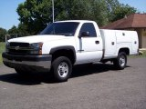 2003 Chevrolet Silverado 2500HD Regular Cab Chassis Utility Data, Info and Specs