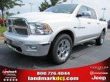 2011 Bright White Dodge Ram 1500 Laramie Crew Cab 4x4 #52150036