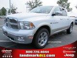 2011 Bright White Dodge Ram 1500 Laramie Crew Cab #52150039