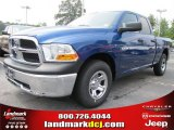 2011 Deep Water Blue Pearl Dodge Ram 1500 ST Quad Cab #52150041