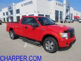 2010 Vermillion Red Ford F150 STX SuperCab 4x4 #52149909