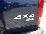 2003 Dodge Ram 1500 SLT Regular Cab 4x4 Marks and Logos