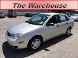 2005 CD Silver Metallic Ford Focus ZX4 SE Sedan #52149923
