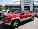 2006 Victory Red Chevrolet Silverado 1500 Z71 Extended Cab 4x4 #52150082