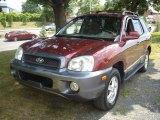 2004 Merlot Red Hyundai Santa Fe GLS #52150088