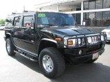2003 Black Hummer H2 SUV #52201240