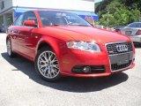 2008 Brilliant Red Audi A4 2.0T quattro S-Line Sedan #52200726