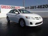 2011 Super White Toyota Corolla LE #52200900