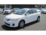 2011 Super White Toyota Corolla LE #52200919