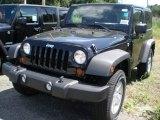 2011 Black Jeep Wrangler Sport S 4x4 #52200599