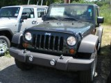 2011 Natural Green Pearl Jeep Wrangler Sport S 4x4 #52200600