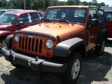 2011 Mango Tango Pearl Jeep Wrangler Sport 4x4 #52200601
