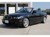 2006 Jet Black BMW 3 Series 330i Convertible #52200934