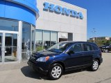2009 Royal Blue Pearl Honda CR-V EX 4WD #52200760