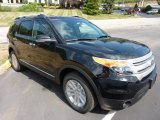 2011 Ebony Black Ford Explorer XLT 4WD #52200775