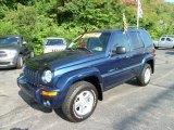 2002 Patriot Blue Pearlcoat Jeep Liberty Limited 4x4 #52200974