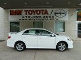 2011 Super White Toyota Corolla S #52200673