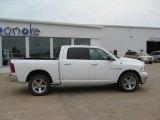 2010 Stone White Dodge Ram 1500 Big Horn Crew Cab 4x4 #52200811