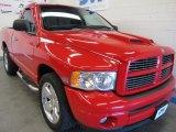 2003 Flame Red Dodge Ram 1500 SLT Regular Cab #52201022
