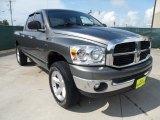 2007 Mineral Gray Metallic Dodge Ram 1500 SLT Quad Cab 4x4 #52200840