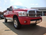 2007 Flame Red Dodge Ram 1500 Laramie Quad Cab 4x4 #52201051