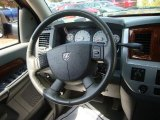 2007 Dodge Ram 1500 Laramie Quad Cab 4x4 Steering Wheel