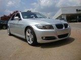2009 Titanium Silver Metallic BMW 3 Series 335i Sedan #52201052