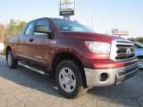 2010 Radiant Red Toyota Tundra Double Cab 4x4 #52256038