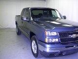 2006 Blue Granite Metallic Chevrolet Silverado 1500 Z71 Extended Cab 4x4 #52256198